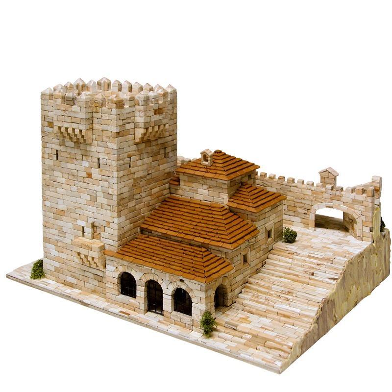Der Bujaco Turm aus Cáceres im Modellbau
