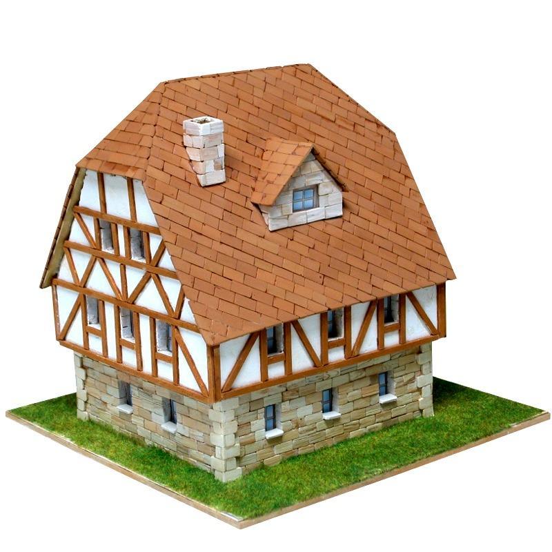 Das Deutsche Fachwerkhaus im Modellbau