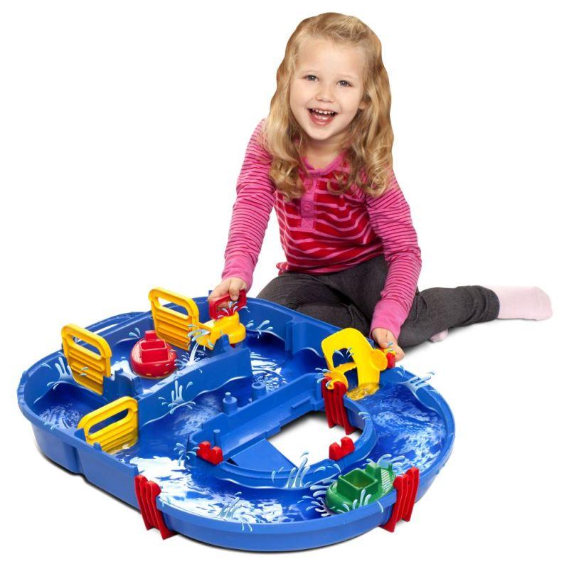 Aquaplay Wasserbahnspielzeug auch im Winter